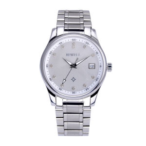 Diamond Stainless Steel Machinery Custom Fashion Watch pictures & photos