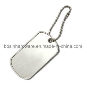 Folded Stainless Steel Blank Dog Tag pictures & photos