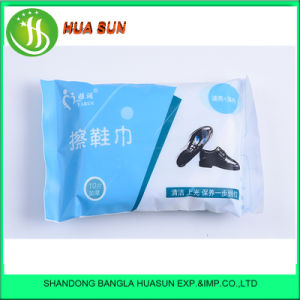 10 PCS Leather Shoes and Bag Care and Cleaning Disposable Wet Wipes pictures & photos
