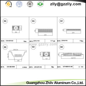 1000 Series Building Material Aluminum Heat Sink for Machinery pictures & photos