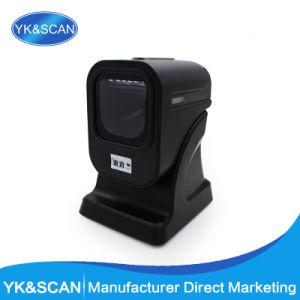 Yk-6200 USB Desktop 2D Omnidrectional Barcode Scanner Imager pictures & photos