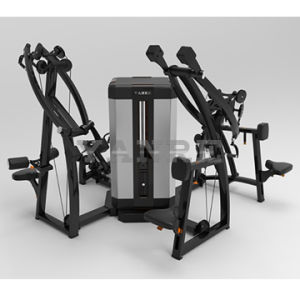Multistation 4 Stations / 8 Functions Body Building Machine Gym Fitness Equipment pictures & photos