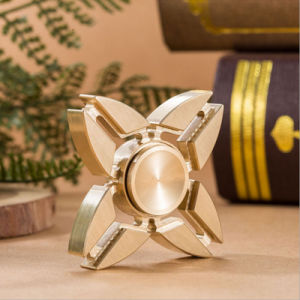 Pure Brass Hand Spinner Copper Finger EDC Toy Fidget Spinner pictures & photos