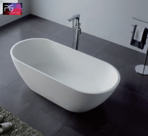 2017 Newest Cupc Certification Eco Friendly Composite Stone Solid Surface Bathtub pictures & photos