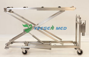 Medical Mortuary Toom Stainless Steel Mortuary Lifter Corpse Mortuary pictures & photos
