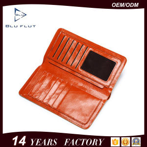 Hot Fashion Custom Logo Pure Leather Card Holder Wallets pictures & photos