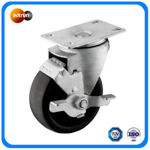 Medium Duty PP Wheels with Tread Brake pictures & photos