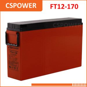 FT12-170 12V170Ah Front Terminal AGM/UPS Battery for Solar Storage pictures & photos