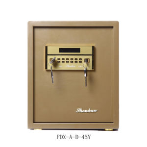 Security Home Safe Box with Digital Lock-Champagne Gold Seriers Fdx a/D 45y pictures & photos