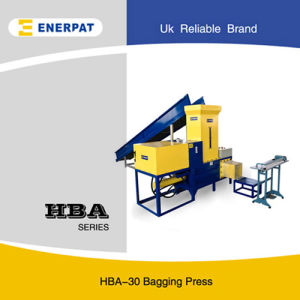 Enerpat Automatic Rice Husk Baler/Horizontal Rice Hull Bagging Machine for Sale