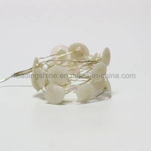 Sea Shell Shaped Flexible Fairy Lights Warm White Indoor Decoration Part Wedding AA Battery pictures & photos