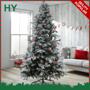 Snowing Artificial Christmas Trees