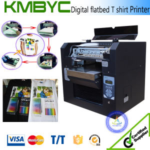 A3 Size Multipurpose Digital Flatbed T Shirt Printing Machine pictures & photos