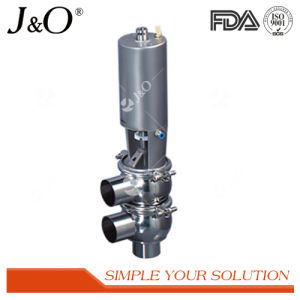 Stainless Steel Sanitary Pneumatic Divert Valve pictures & photos