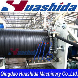 HDPE Hollow-Wall Winding Pipe Extrusion Line pictures & photos