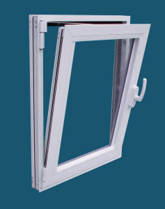 Double Glazed PVC/UPVC Side Hung and Tilt Window pictures & photos