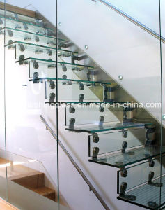 3-19mm Modern Family Curved Glass Stairs Suppliers pictures & photos