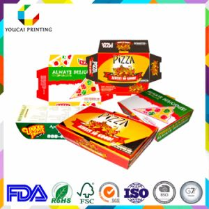 Strong Corrugated Pizza Box with Printing pictures & photos