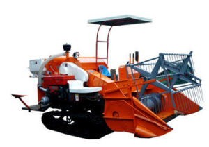 Combine Harvester Machine for Harvesting Rice Paddy and Wheat Model 4lz-1.0 pictures & photos