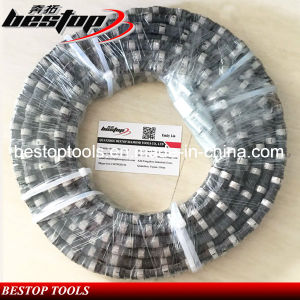 11mm Rubber Diamond Saw Wire for Reinforced Concrete pictures & photos