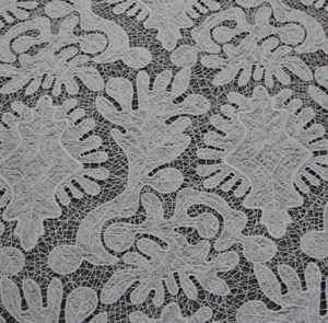 Big Flower Chemical Embroidery Fabric