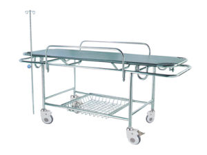 Fl-Zb15 Stainless-Steel Rise-and-Fall Stretcher Cart with Ce pictures & photos