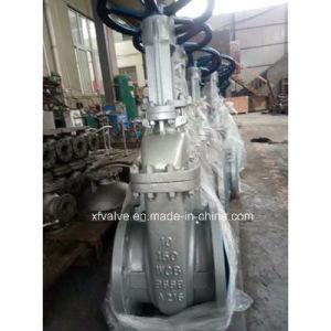 API600 150lb Cast Steel Wcb Flange End Gate Valve