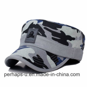 Wholesale Men Camouflage Baseball Caps Leisure Sunshade Flat Hat pictures & photos