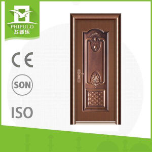 Popular Good Price and Quality Entrance Iron Door pictures & photos