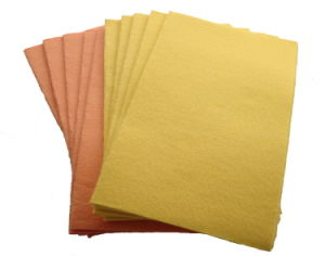 All Purpose Household Nonwoven Fabric Cleaning Cloth, Needle Punched Non-Woven Cloth pictures & photos