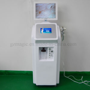 A0605c Multifunction Intraceuticals Oxygen Facial Machine / Oxygen Jet Peel Machine for Skin Care pictures & photos