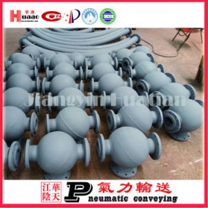 Sales Ball Elbow Send Tank Discharge Valve pictures & photos