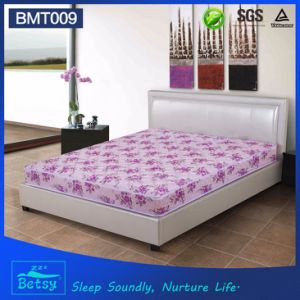 OEM Compressed Super Single Mattress 21cm High with Resilient Bonnell Spring and Polyester Printing Fabric pictures & photos