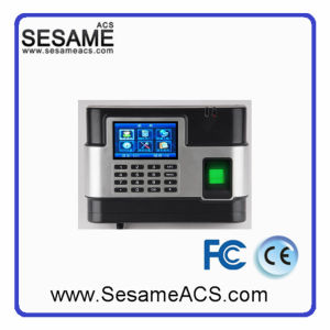Colorscreen Display Access Control Fingerprint Time and Attandance (SXL-33) pictures & photos