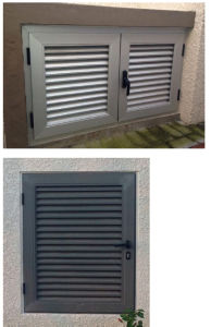 Exquisite Home Decor Window Shutter with Security Bar pictures & photos