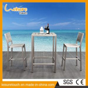 European Style Tall KTV Leisure Cafe Bar Aluminum Chair pictures & photos