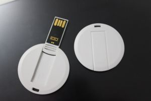 White Squre USB Flash Drive with Full Color Printing pictures & photos