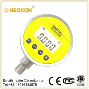 Hygiene Type Digital Air Liquid Pressure Gauge with Backlight pictures & photos