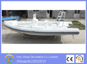 6.8m Ce Fibreglass Rib Sport Boat, Fishing Boat pictures & photos