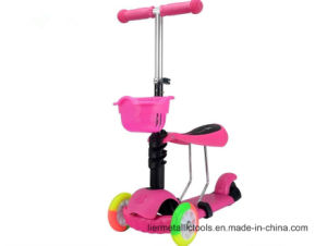 Music Children Scooter with Light Wing Scooter pictures & photos
