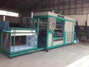 Auto Blister Vacuum Forming Machine for Packing Material PVC, Pet, PS, PC pictures & photos