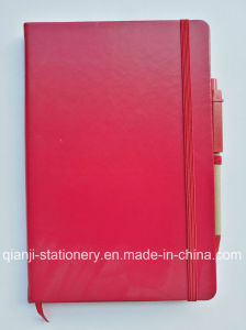 PU A5 Notebook with Engrave Logo (N1001) pictures & photos