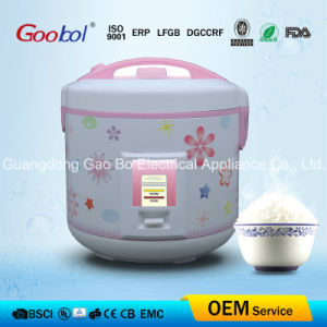 Deluxe Rice Cooker with Flower Printing Shell pictures & photos