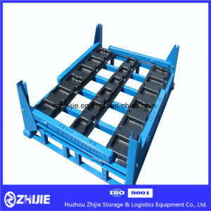 Foldable Pallet Stacking Rack of Gear Box