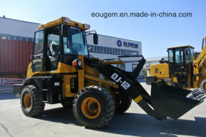 Multi-Function Mini Dumper Tractor Front End Wheel Loader with Snow Blade pictures & photos