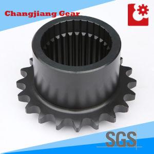 Industrial Chain Transmission Spline Stainless Steel Sprocket with Spline Shaft pictures & photos