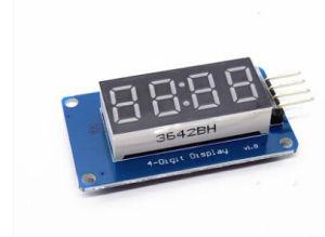 TM1637 4 Bits Digital LED Display Module PARA Arduino 7 Segmento De 0.36 Polegadas Relógio Vermelho Ânodo Tubo Quatro Serial Driver Pacote De Bordo pictures & photos