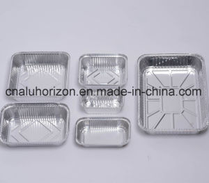 High Quality Household Aluminum Foil Container pictures & photos