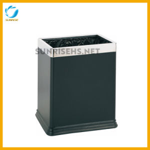Rectangular Shape Top Open Rubbish Dustbin for Hotel pictures & photos