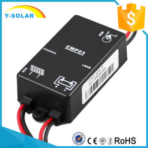 3A 12V/S/St Mini Waterproof Solar Charger Controller for Solar System 3A-12V pictures & photos